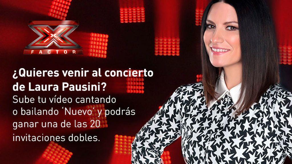 Laura Pausini concurso concierto