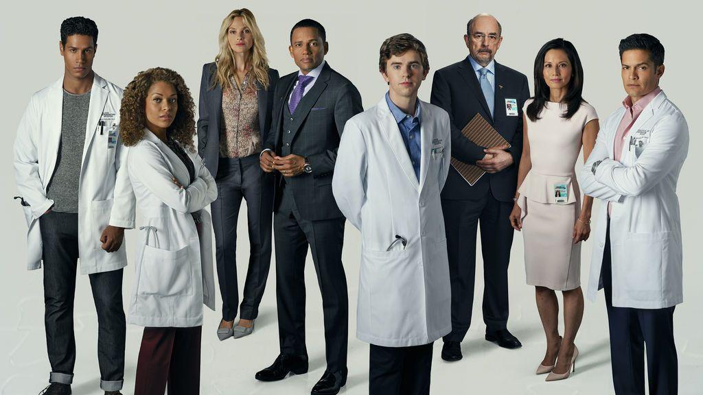 Elenco principal de la primera temporada de 'The good doctor'.
