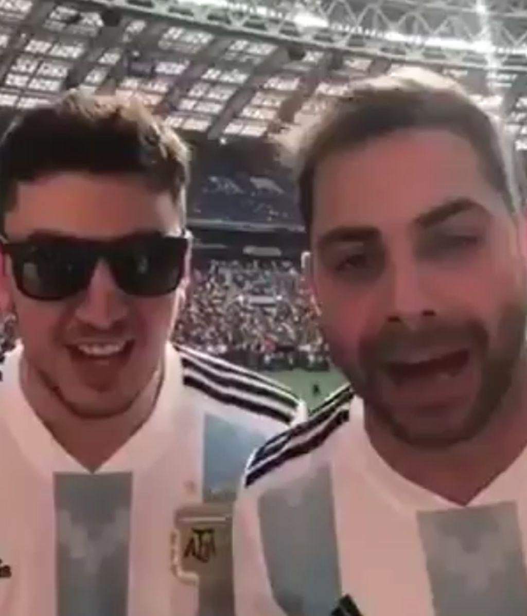 Aficionados argentina