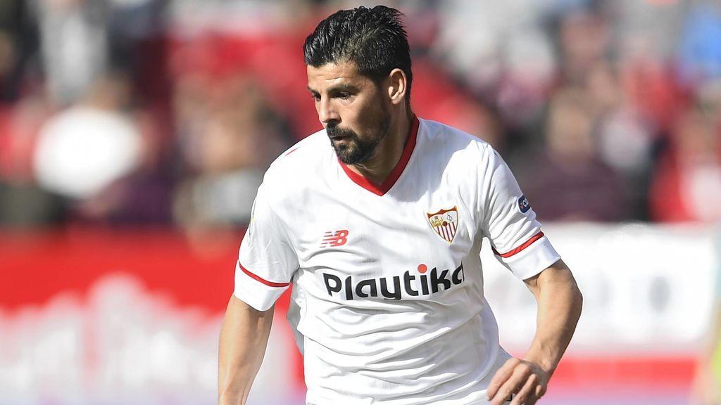 """El Sevilla debuta en pretemporada y las redes alucinan con el aspecto físico de Nolito: """"Sí que ha disfrutrado del verano..."""""""