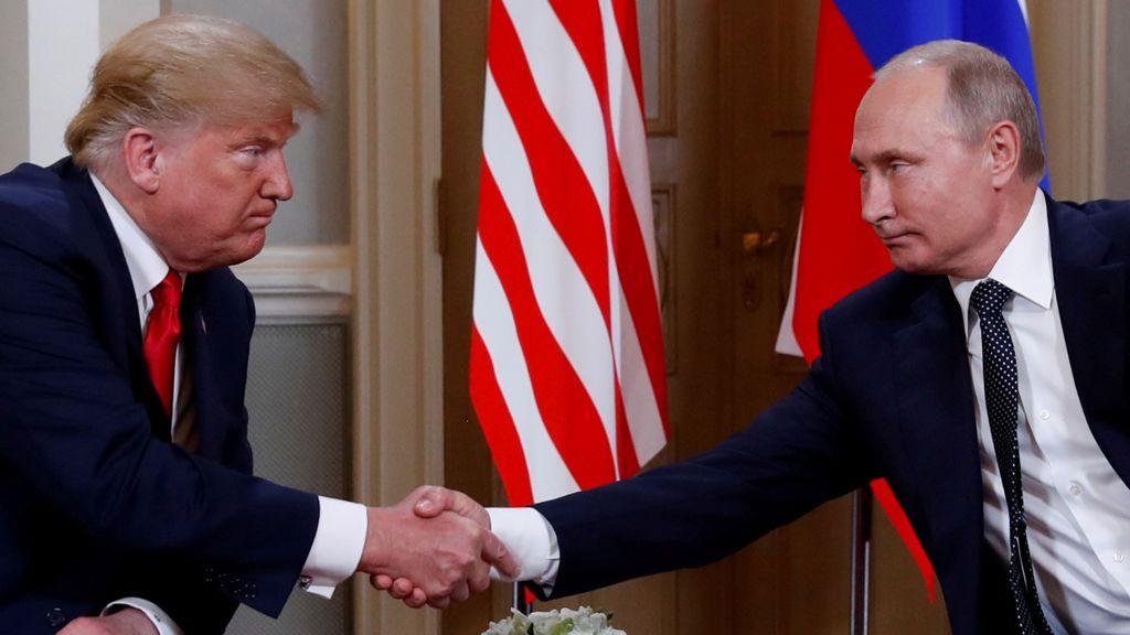 """Donald Trump, tras reunirse con Vladimir Putin: """"Ha sido un buen comienzo"""""""