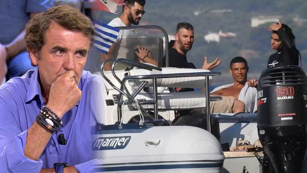"""Antonio Montero, """"amedrentado"""" por los escoltas de Cristiano Ronaldo"""