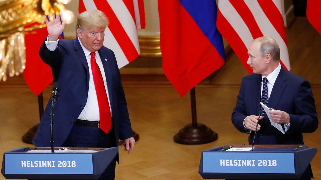 Trump desata una tormenta política en EEUU al dar mayor credibilidad a Putin que a sus servicios secretos