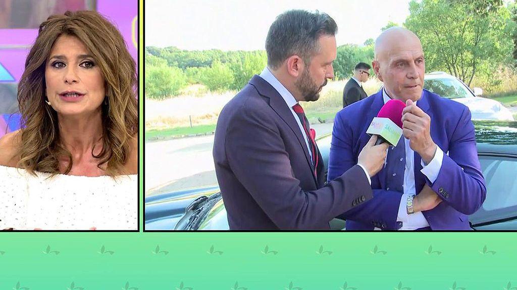 """Gema López: """"Hubo más reencuentros en la boda de Diego Matamoros"""""""