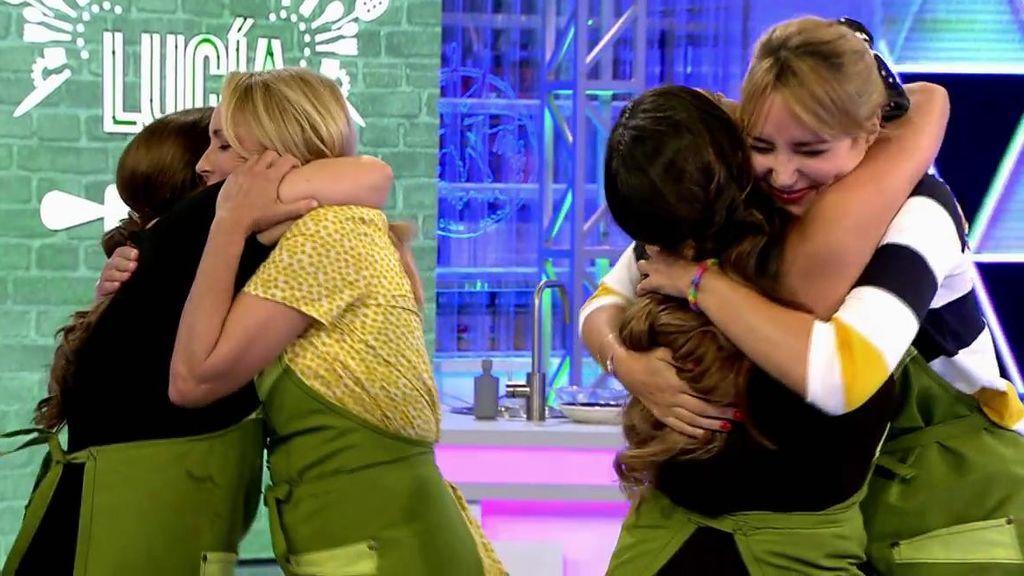 ¡Alba Carrillo y Lucía Pariente ganan la prueba contra las Salazar!