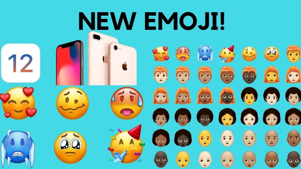 Apple prepara una batería de nuevos 70 emojis para el iOS 12
