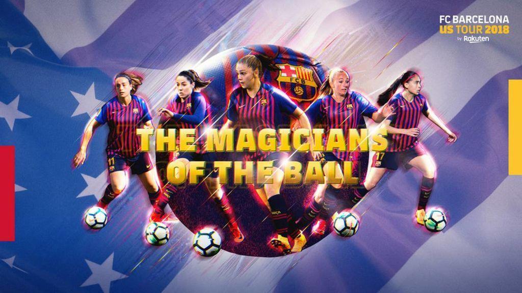El Barça femenino hará la gira de pretemporada con el primer equipo