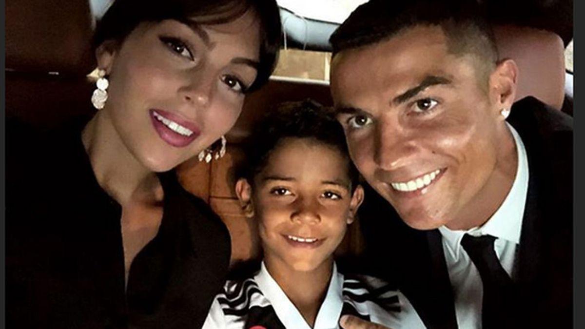 Las cariñosas palabras de Georgina a Cristiano y su hijo tras fichar por la Juve