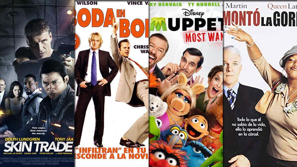 'De boda en boda' 'El tour de los Muppets' y 'Se armó la gorda' esta semana en FDF