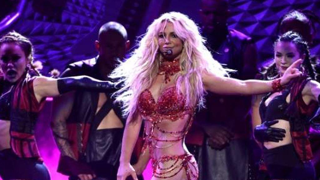 A Instagram 'no le gusta': el descuido de Britney Spears sobre el escenario