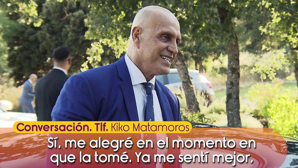 Kiko Matamoros nos cuenta cómo vivió la boda de su hijo y el mensaje que le escribió tras el enlace