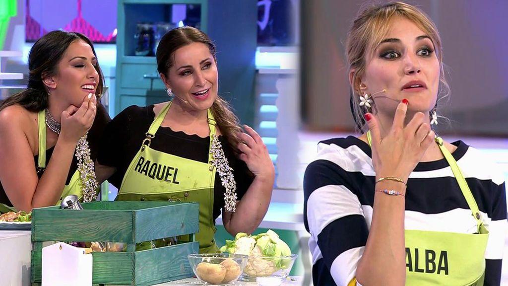 """Los cuchillos 'vuelan' entre Las Salazar y Alba y Lucía: """"Nosotras comemos sólido porque tenemos bien los dientes"""""""