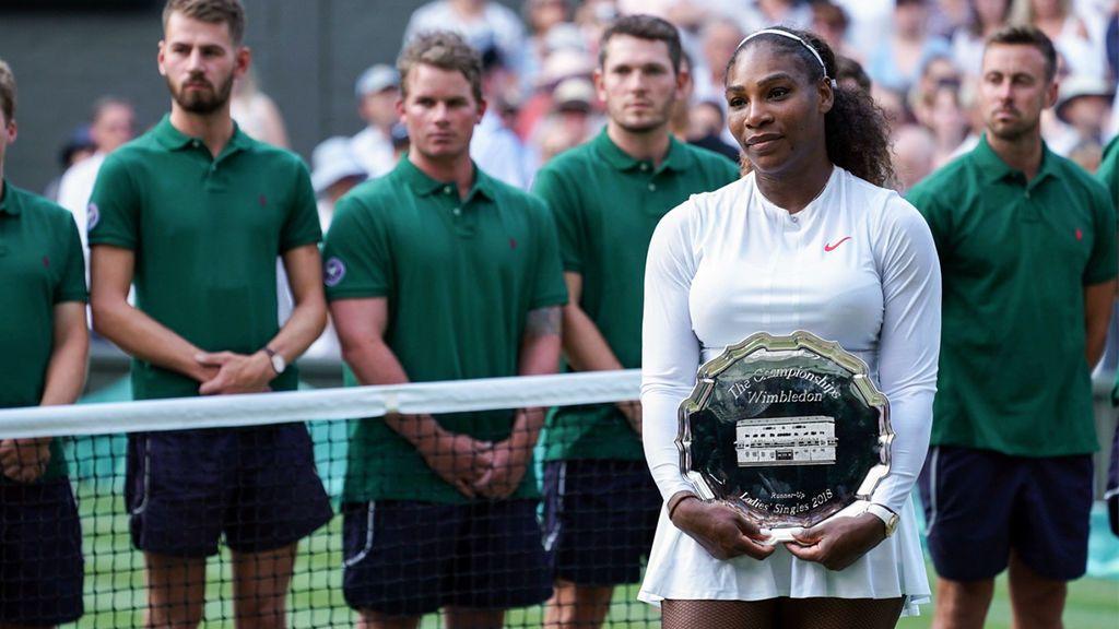 """Serena Williams llega a su primera final tras dar a luz y tiene una dedicatoria muy especial: """"A todas las madres, jugaba por vosotras"""""""