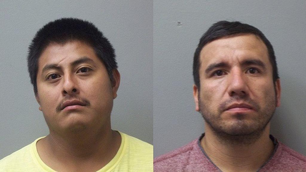 Yoni Aguilar e Israel Palomino, acusados de matar a Oralia Mendoza y su nieta, Mariah Lopez