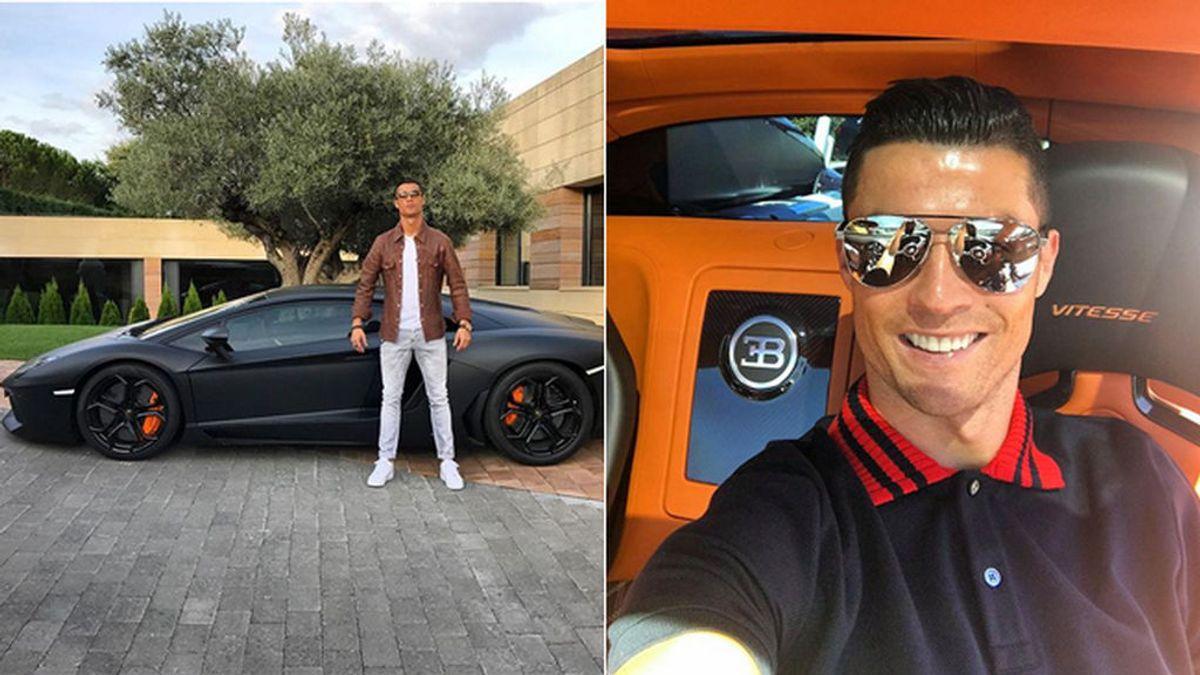 La increíble colección de coches con los que Cristiano Ronaldo se muda a Turín