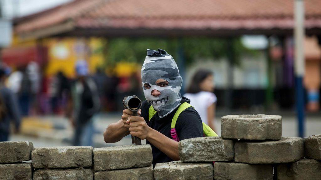 Arrecian las protestas contra Daniel Ortega en Nicaragua