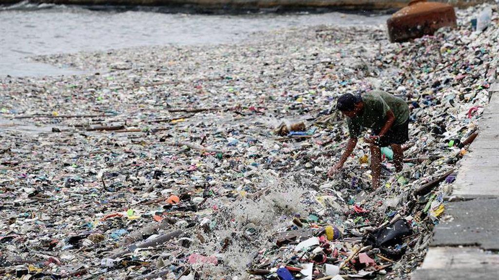 Mareas de residuos
