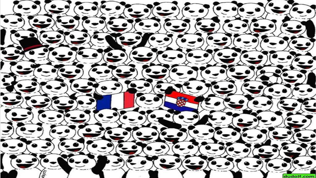 Cientos de osos panda y un balón de fútbol: el reto que enloque en Instagram