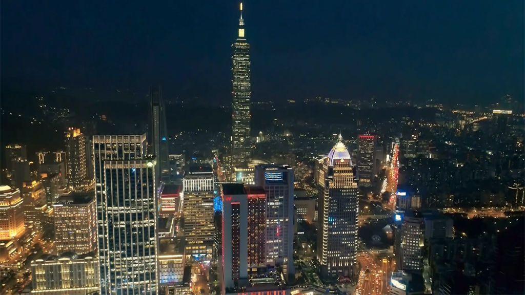 La Torre Taipei 101, uno de los edificios más grandes del mundo con el ascensor más rápido