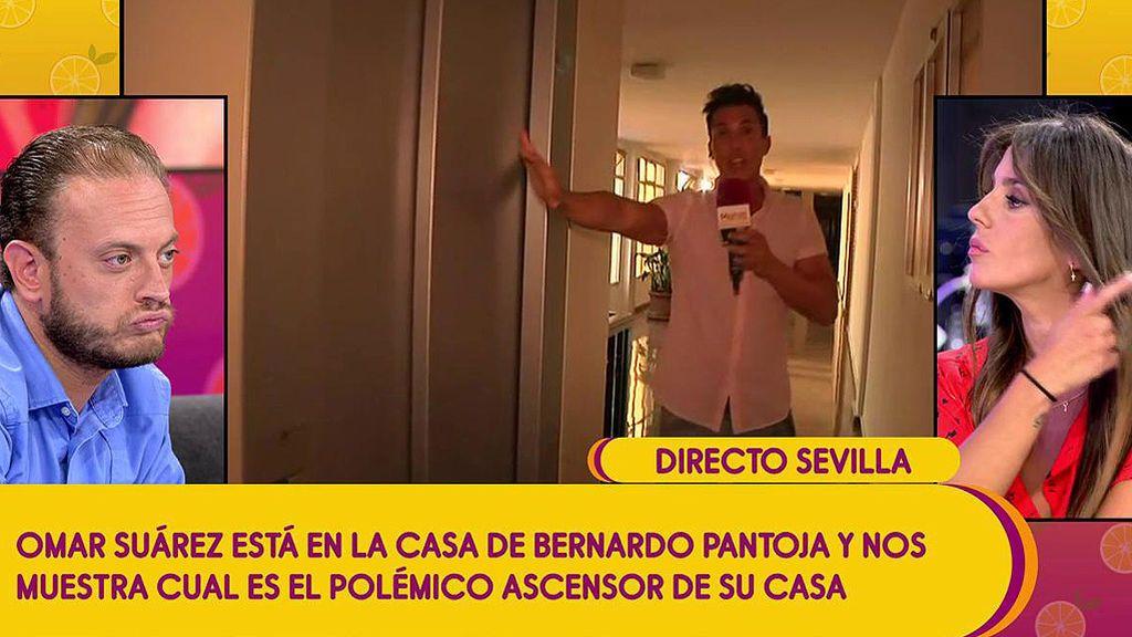 Bernardo Pantoja y la polémica del ascensor