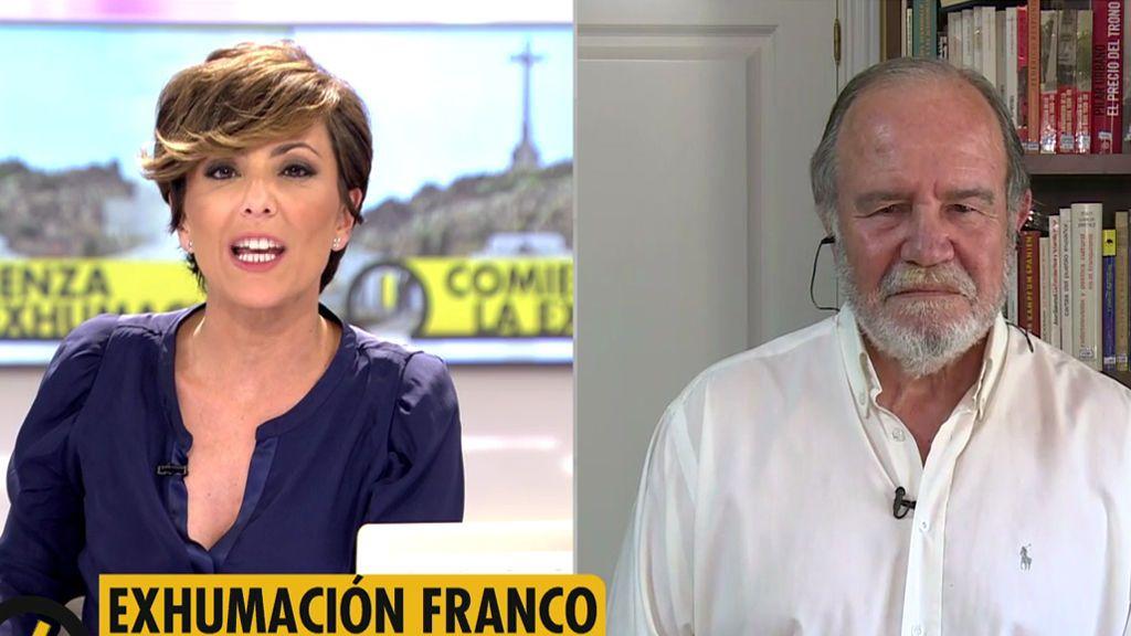 "Juan Chicharro, Presidente de la Fundacion Franco: ""Pedro Sánchez está despertando a la bicha"""