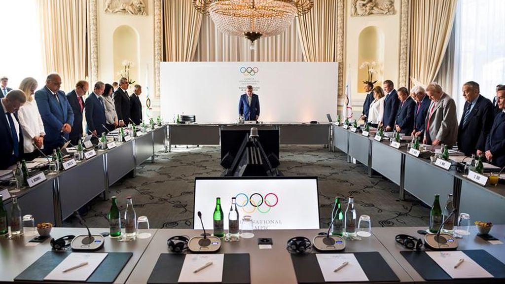 Encuentro del Comité Olímpico y recuerdo a Mandela