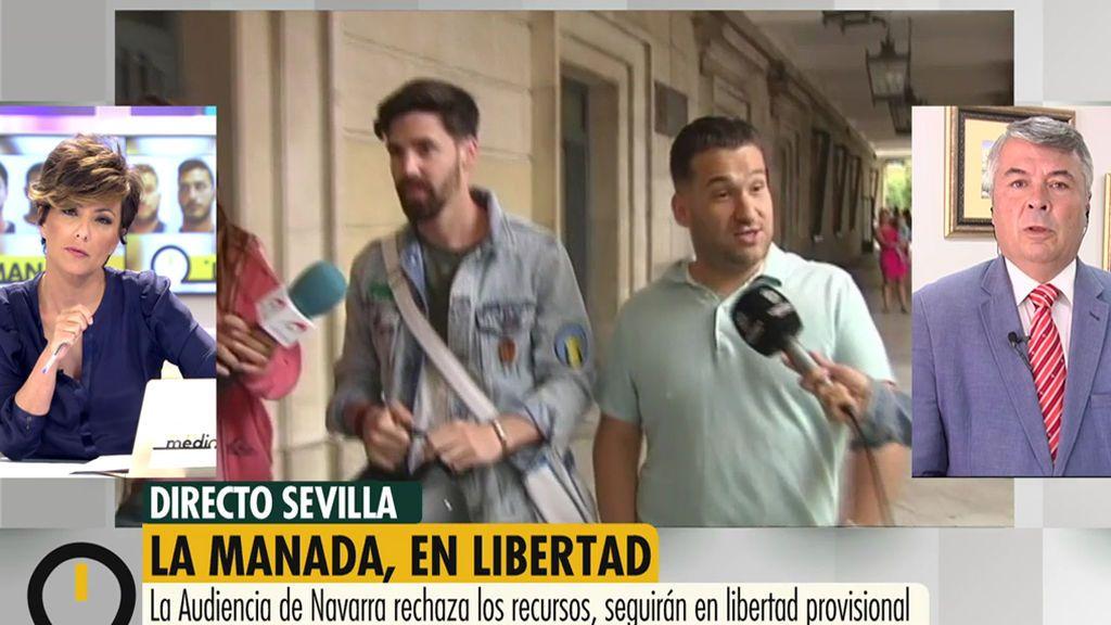 """El abogado de La Manada: """"Si mis clientes no dicen nada es porque es mejor estar callado que decir las tonterías que han dicho"""""""