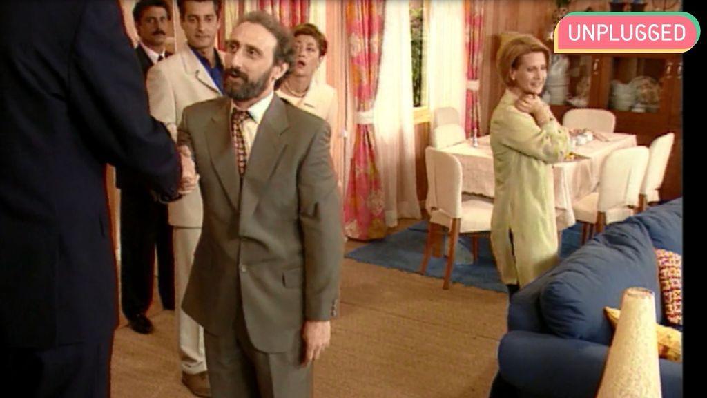 Antes de ser Enrique Pastor, José Luis Gil recibió en su casa a la realeza hace 20 años