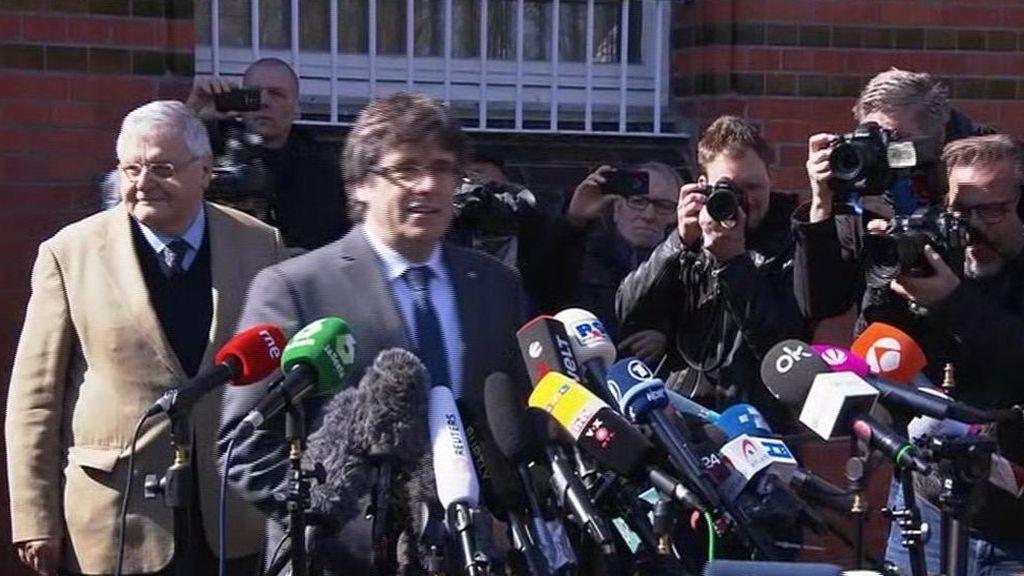 El juez rechaza admitir la entrega de Puigdemont solo por malversación