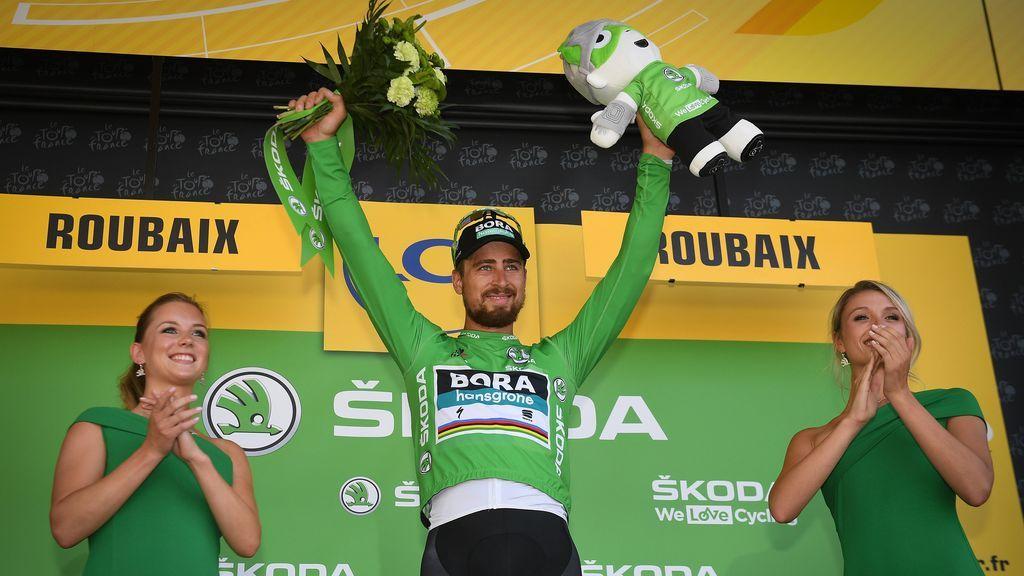 Peter Sagan acaba la etapa del Tour y anuncia que se separa de su mujer