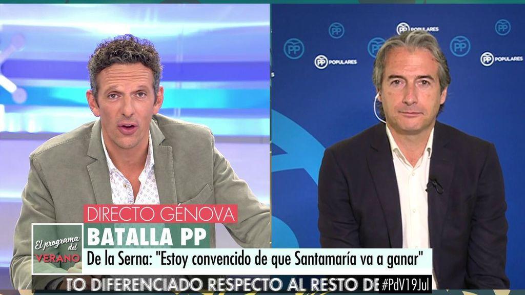 """Iñigo de la Serna, exministro de Fomento: """"Estoy convencido de que Soraya va a ganar"""""""