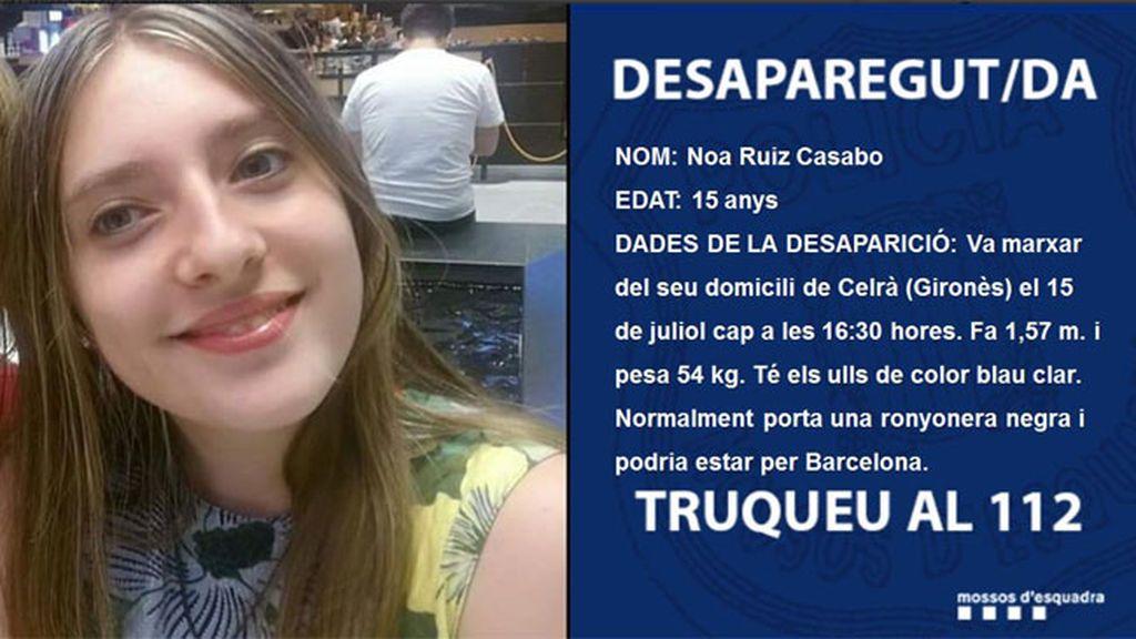 Buscan a una niña desaparecida en Gerona