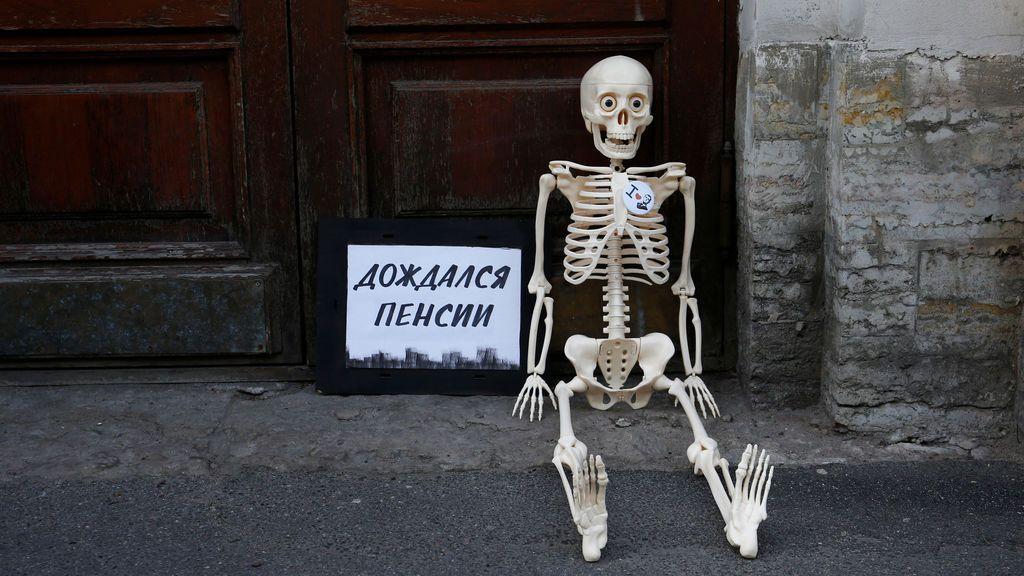 Moscú, contra el aumento de la edad de jubilación
