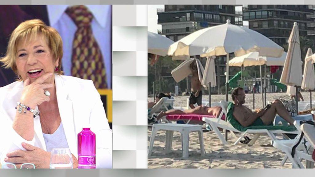 Mariano Rajoy disfruta de la playa en su primer verano como expresidente del Gobierno