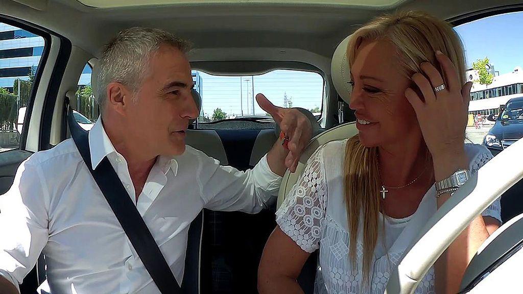 """David Cantero se confiesa 'a bordo' con Belén Esteban: """"Estoy absolutamente enamorado"""""""