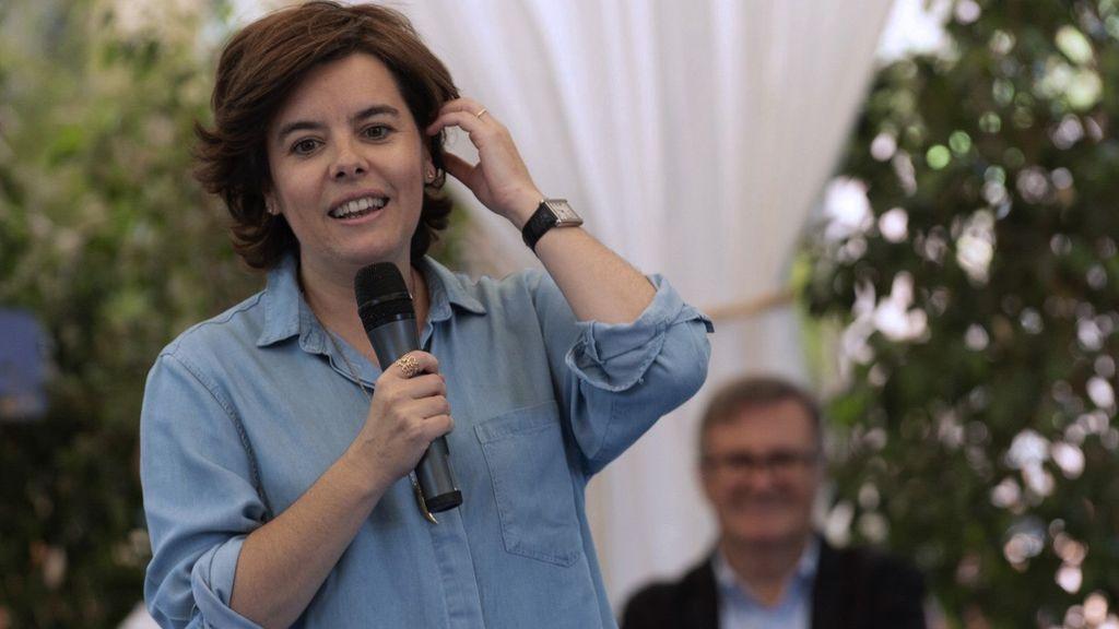 """Santamaría, que se ve con """"un colchón"""" del 15% de ventaja sobre Casado, seguirá en política """"pase lo que pase"""""""