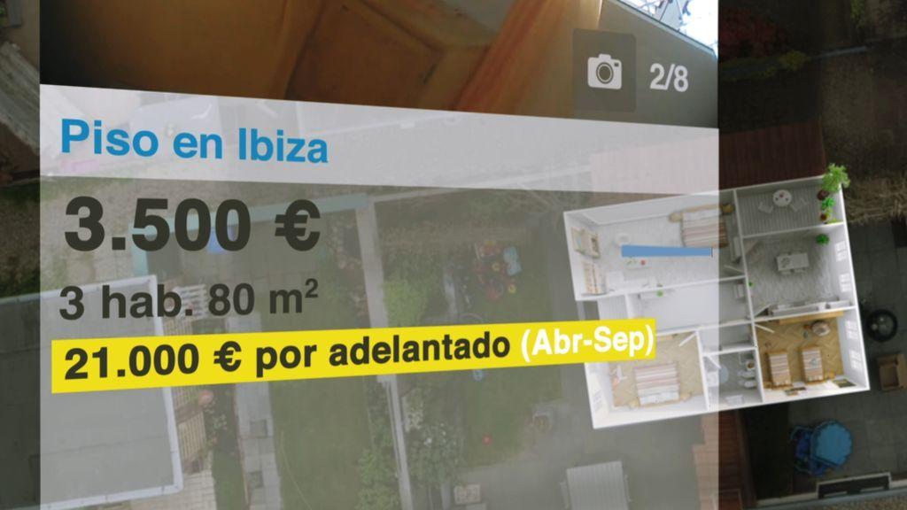 Imagen de Ibiza en el programa de la tercera temporada de 'En el punto de mira', en el que analizaron el problema de la vivienda en la ciudad.