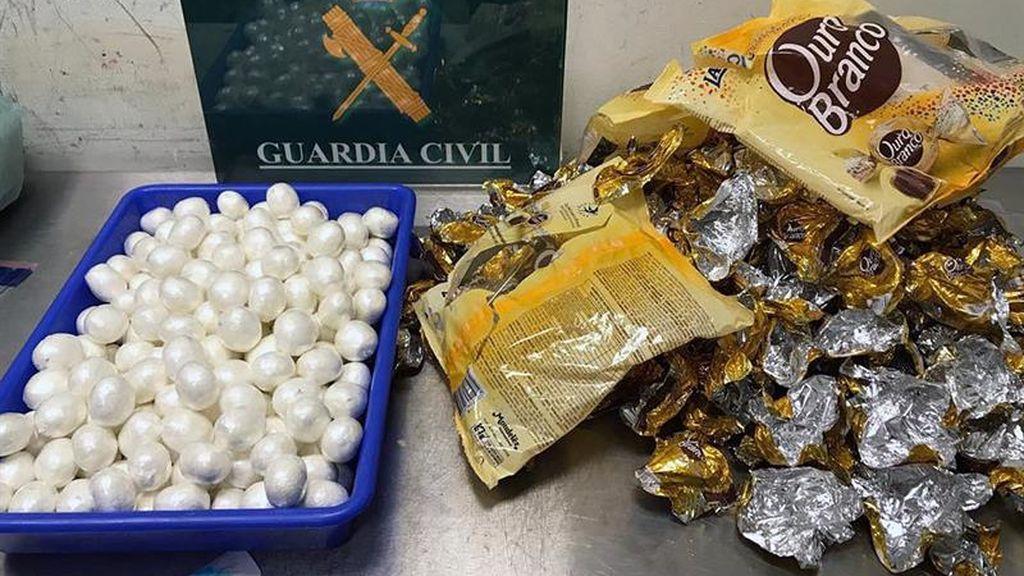 13.750 gramos de cocaína incautados en Barajas