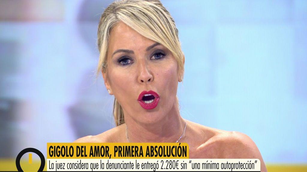 """Monste Suárez, a la jueza del 'Estafador del amor': """"A mí también me han estafado y no soy tonta"""""""