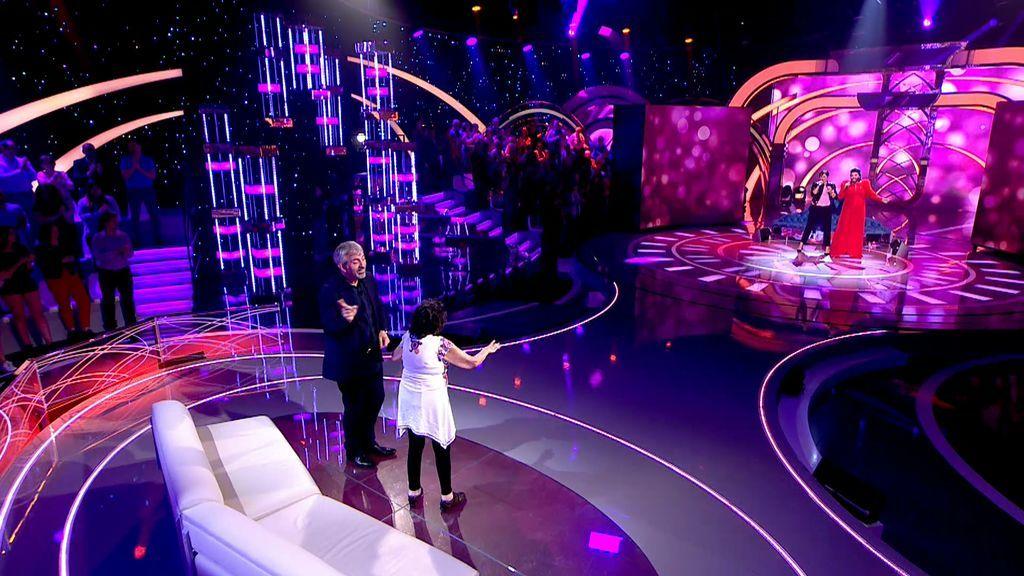 ¡Rosa López y Libertad Montero, 'La Pincho', interpretan 'Esa no soy yo' en 'Volverte a ver!