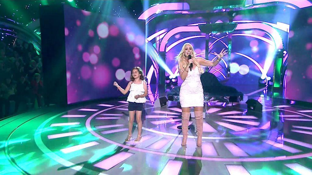 ¡Saray cumple su sueño de cantar junto a su artista favorita: 'La Húngara'!