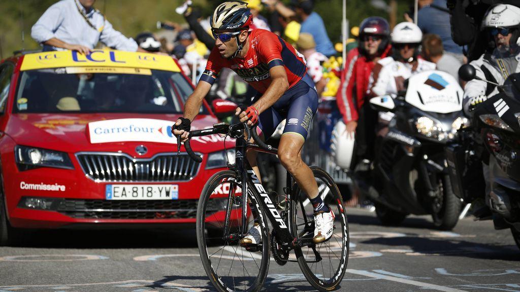 Nibali abandona el Tour tras una caída provocada por un aficionado