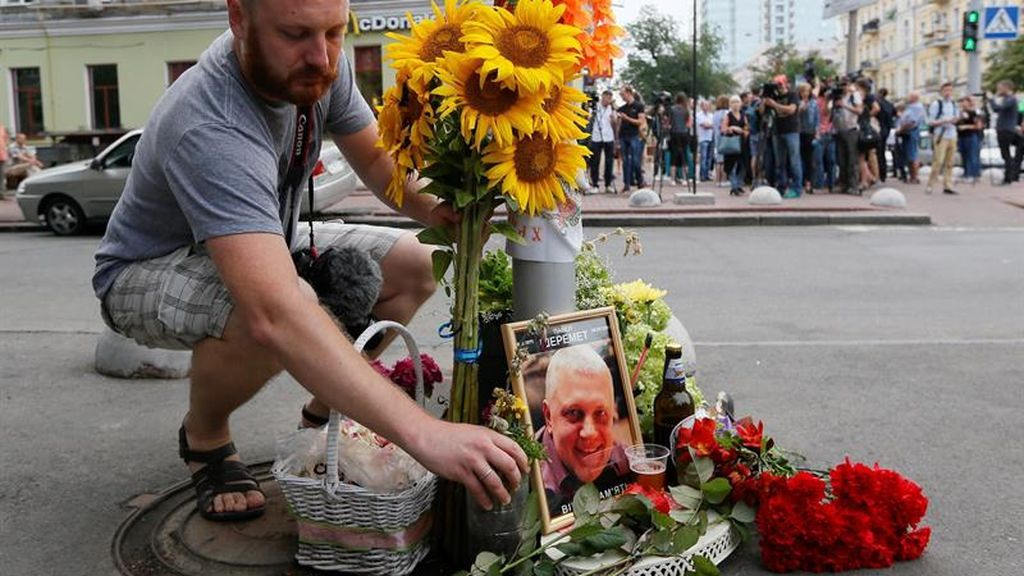 Dos años del asesinato del periodista Pavel Sheremet
