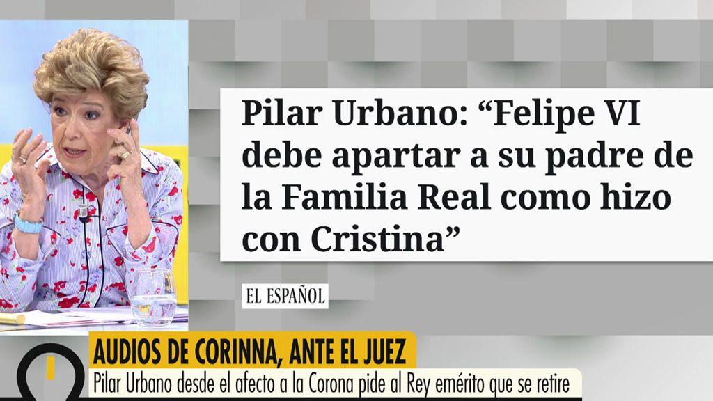 """Pilar Urbano: """"No me gustaría ver al Rey Juan Carlos en el paredón"""""""