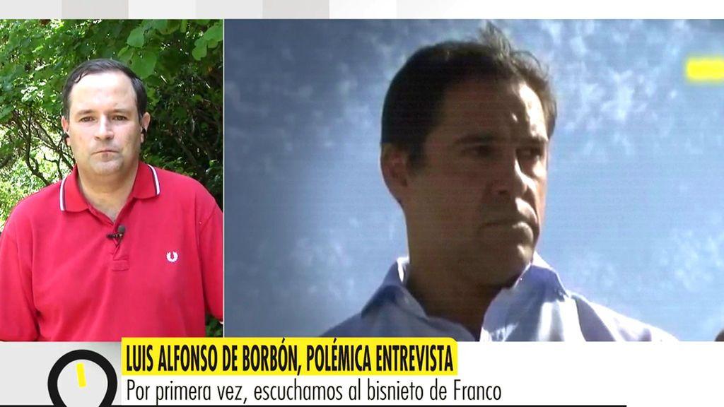 """Luis Alfonso de Borbón: """"Defendemos el Valle de los Caídos porque es un monumento cristiano"""""""