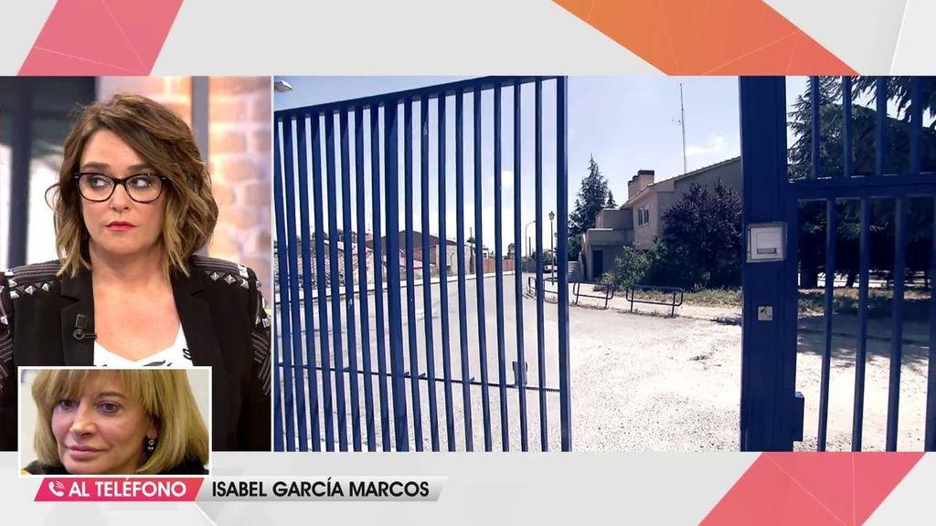 """Isabel García Marcos, sobre el aislamiento de Urdangarin: """"Está en una doble prisión"""""""