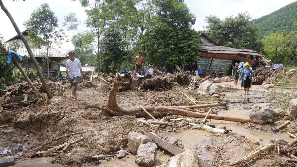 Mueren 30 personas a causa de las lluvias torrenciales en el norte de Vietnam
