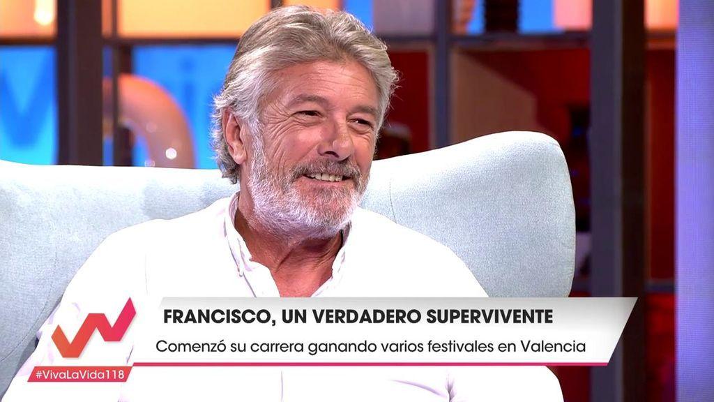 """Francisco se pone un nuevo objetivo: """"Me encantaría ir a Eurovisión"""""""