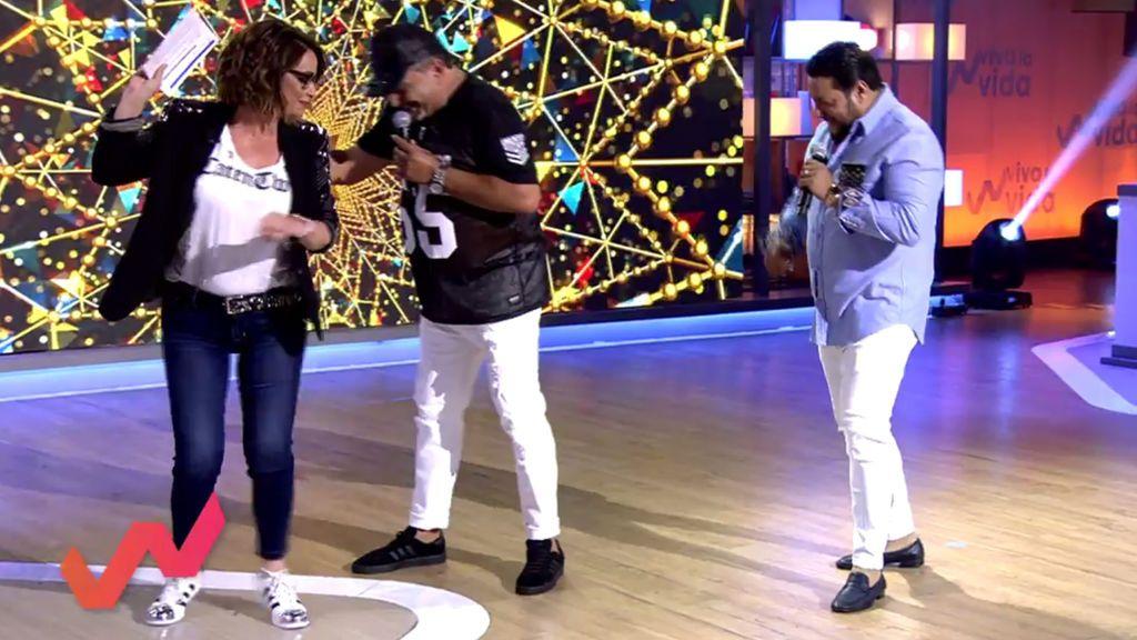 Toñi Moreno no puede resistirlo y se lanza a 'perrear' el 'Gipsyton' de los Fernández Navarro