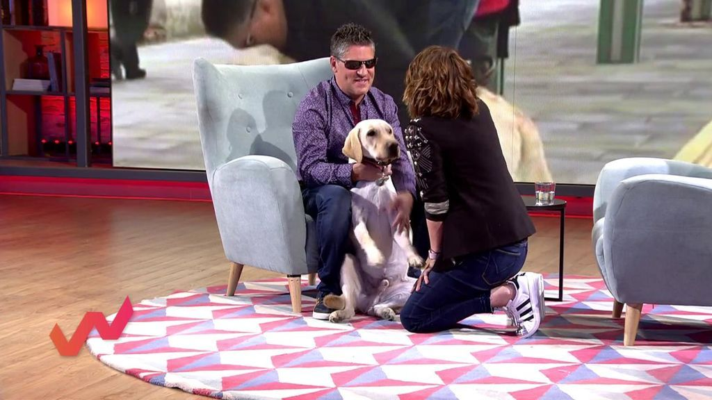 """Serafín Zubiri: """"El ser más importante de mi vida es mi perrito Pipper"""""""